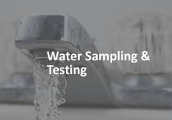 Water Sampling & Testing